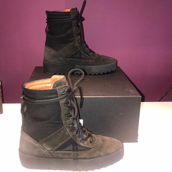 yeezy season 3 womens military boot